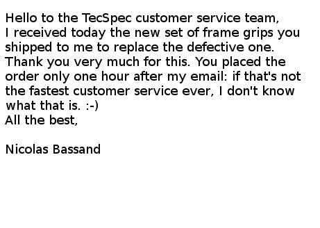 Email Testimonial #2